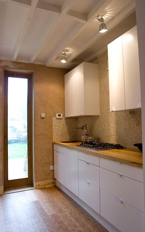 ristrutturazione loft cucina