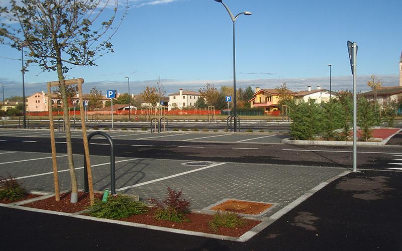 opere di urbanizzazione parcheggio