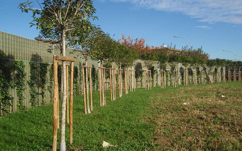 opere di urbanizzazione inserimento spazi verdi