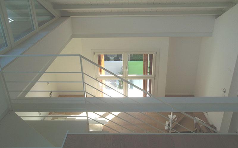 ristrutturazione abitazione anni 60 scale