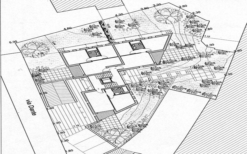 progetto per complesso appartamenti a Valdobbiadene