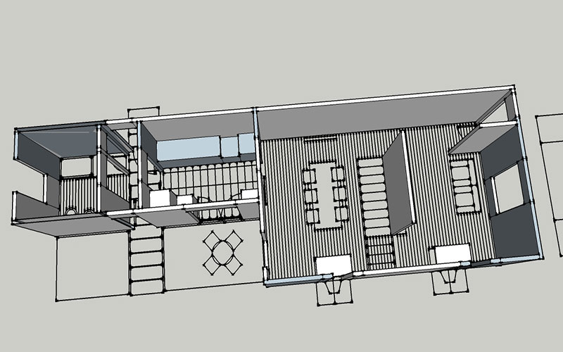 progetto ristrutturazione casa operaia