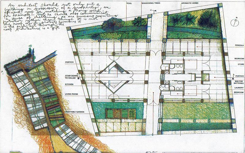 progetto concorso case bioclimatiche