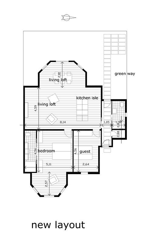 ristrutturazione edificio in stile