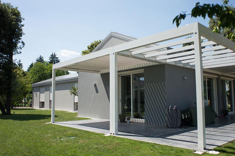 case parco Silea porticato esterno