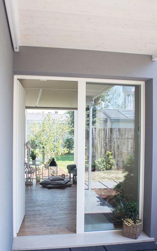 case parco Silea porta veranda
