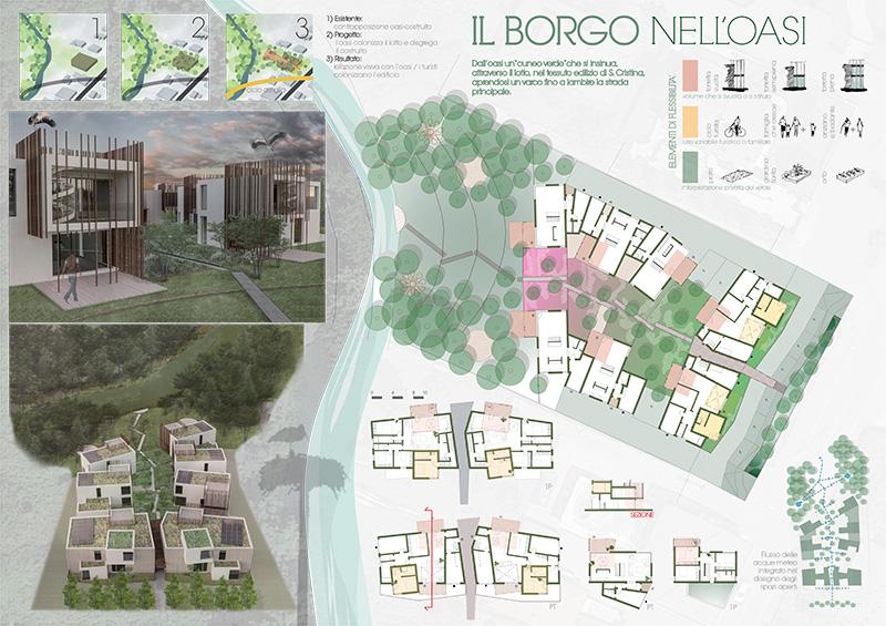 progetto il borgo nell'oasi